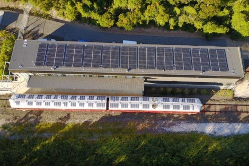 Солнечные батареи позволили построить полностью экологически чистый поезд в Австралии