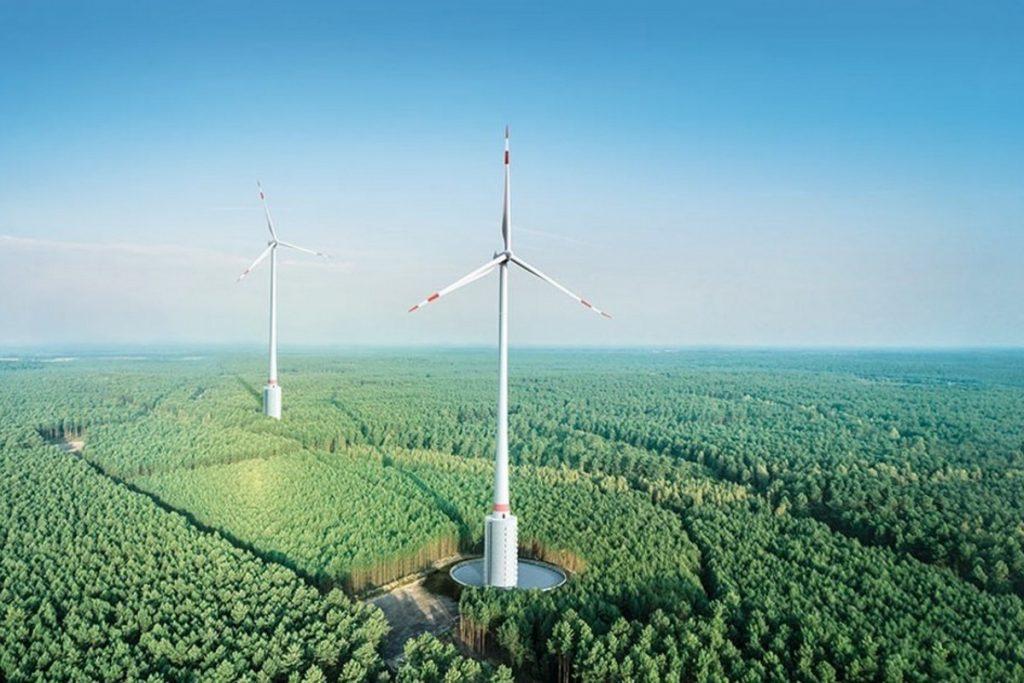 В Германии построили самый высокий ветрогенератор в мире