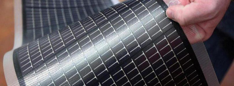Гнучкі сонячні батареї