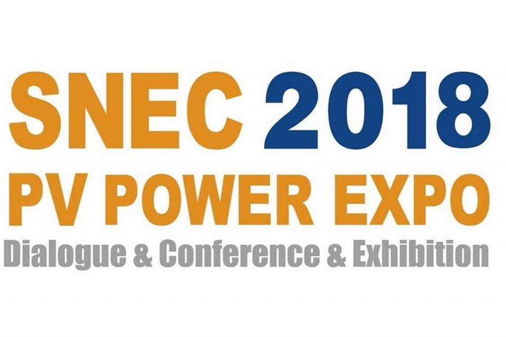 SNEC PV POWER EXPO 2018