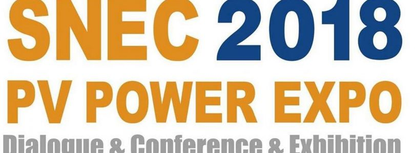 SNEC PV POWER EXPO 2018