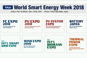 World Smart Energy Week 2018 Tokyo
