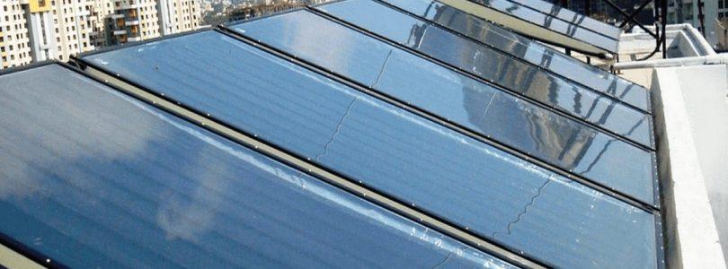 Солнечный коллектор обеспечит горячей водой больницу на Полтавщине
