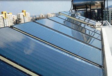 Сонячний колектор забезпечить гарячою водою лікарню на Полтавщині