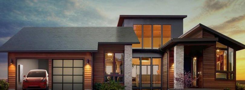 Первая частная солнечная крыша от Tesla начала работу