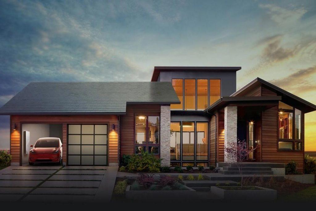 Перший приватний сонячний дах від Tesla розпочав роботу