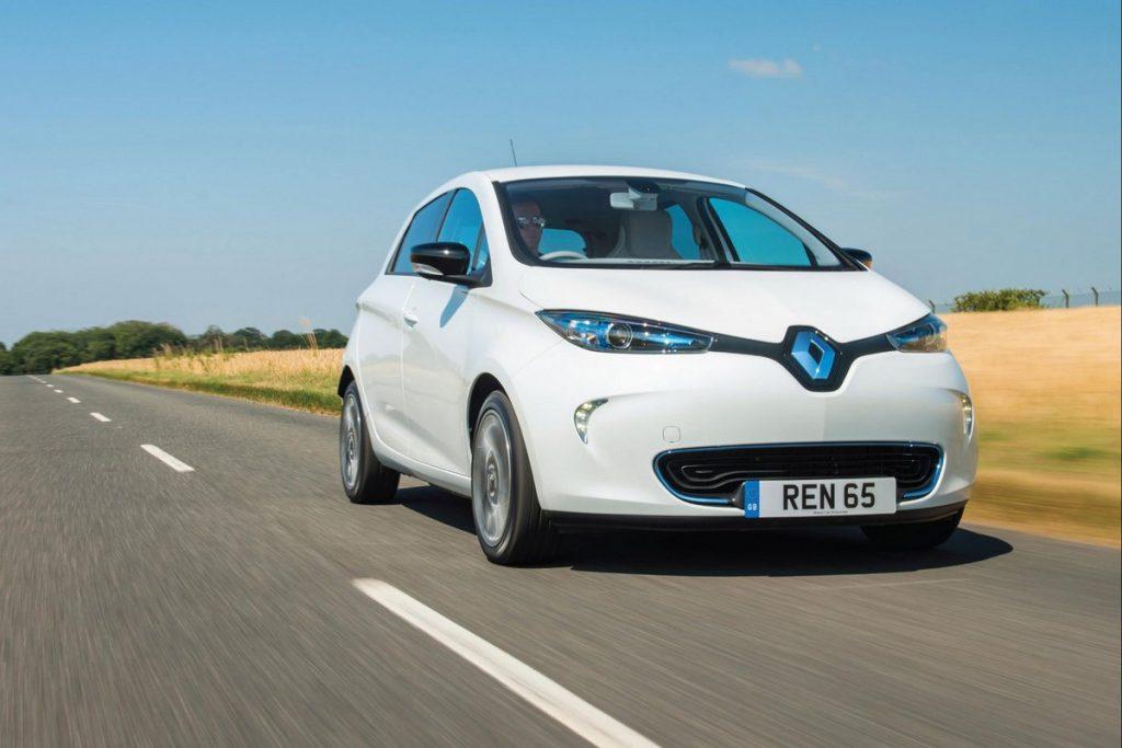 Renault начала официально продавать электромобили в Украине