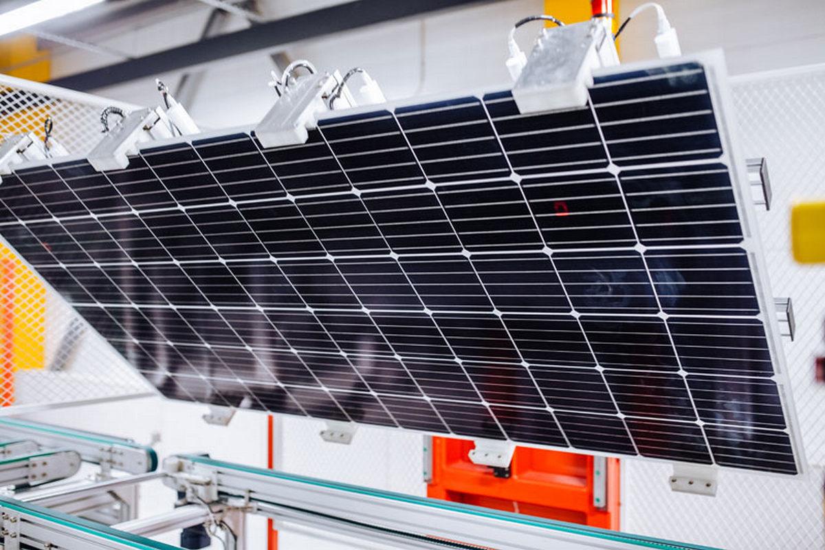 В Виннице открылось самое мощное в Украине предприятие, выпускающее солнечные панели
