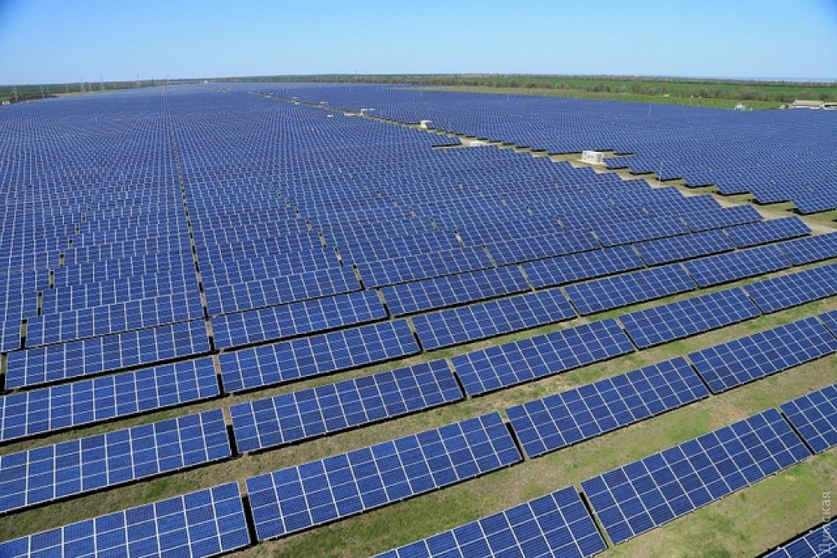 Сонячна електростанція «Старокозаче»