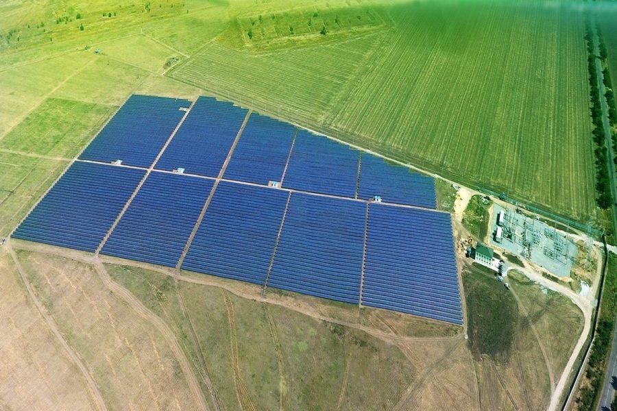 Сонячна електростанція, м. Токмак