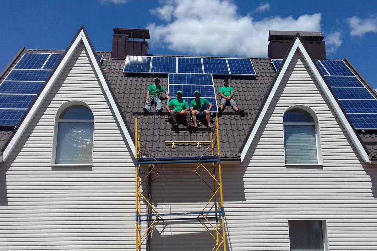 Домашняя солнечная электростанция: как установить и сколько стоит