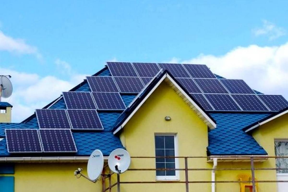 Домашние солнечные электростанции в Украине: еще плюс 1400 установок