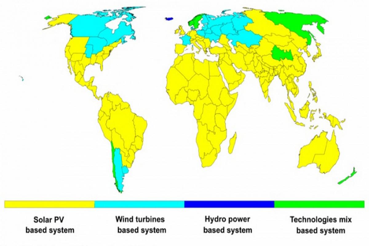 Солнечная энергетика способна покрыть до 70% потребления электроэнергии на Земле уже к 2050 году