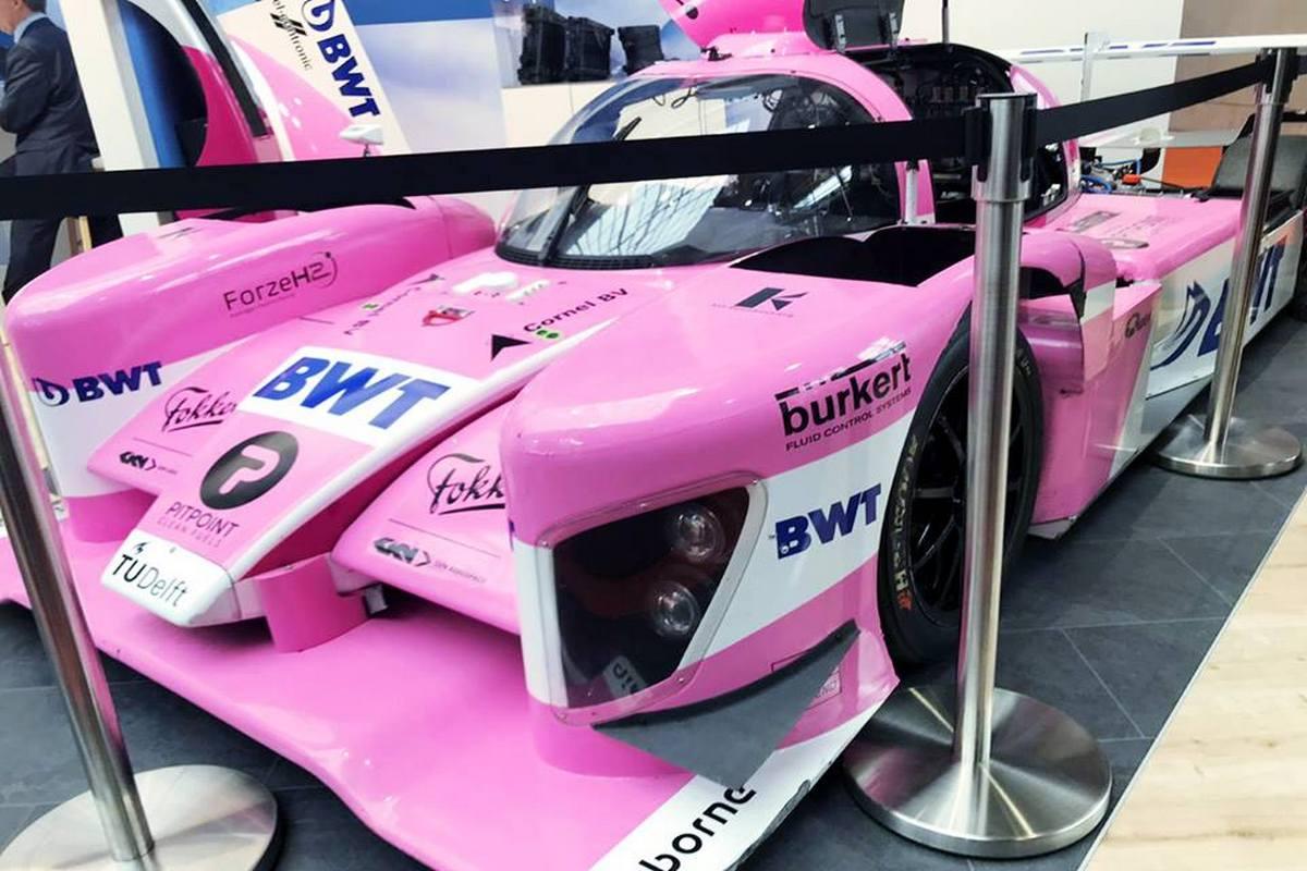 В Ганновере представили водородные автомобили