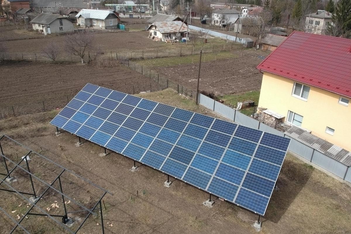 Верховная Рада запретила устанавливать домашние солнечные электростанции на земле